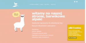 Read more about the article Strona internetowa – barwikowealpaki