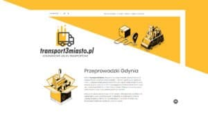 Read more about the article Strona i logo dla firmy transport3miasto