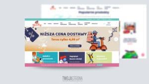 Read more about the article Projekt strony www Nada – sklep z zabawkami