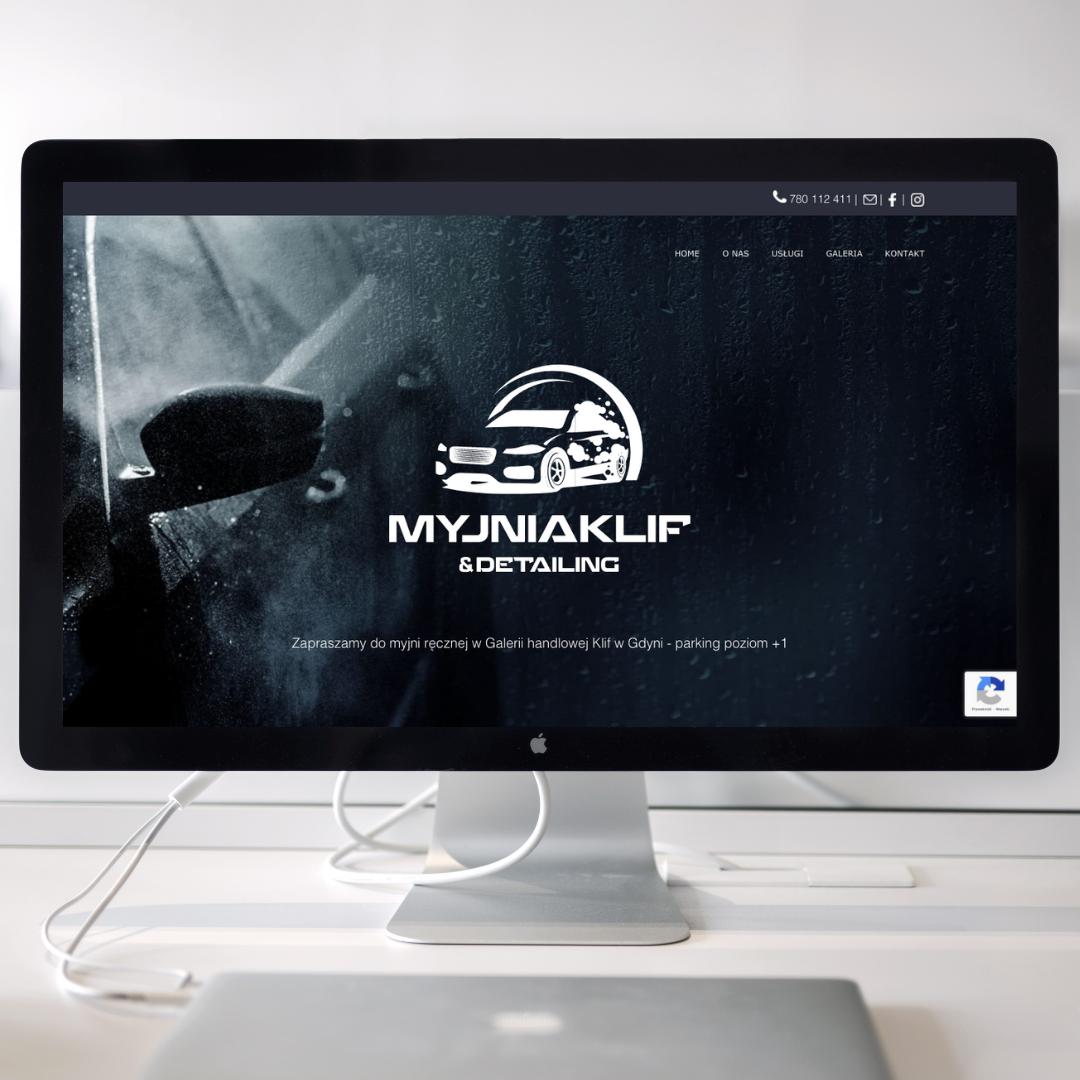myjniaKLif, strona www