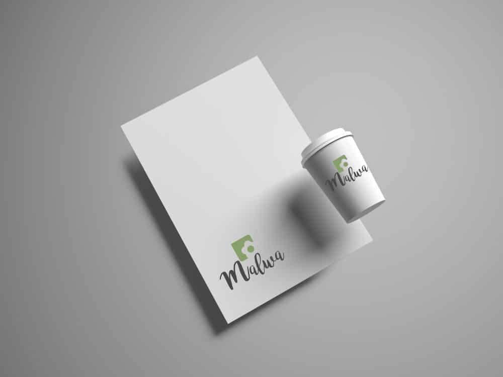 wizualizacja logo, logo Malwa